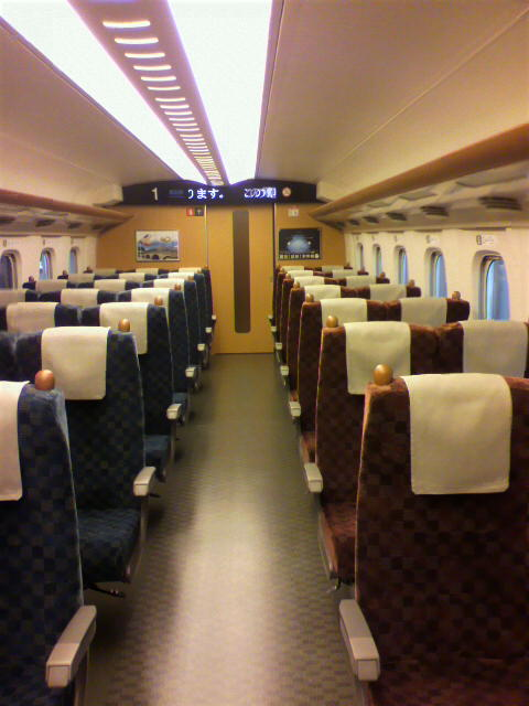 九州新幹線さくら初体験