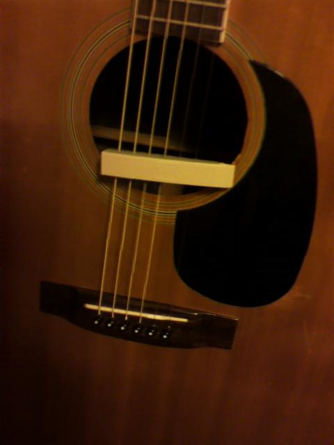 ギターの修理
